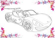 Magical Car Artwork