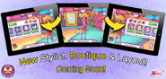 WFS - New Stylish Boutique & Layout!