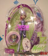 ASM Mattel Toy Fair 2005 Prototype Pixie Magic Tecna Doll