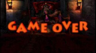 Conkers bad fur day Game over screens (new version)