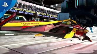 WipEout Omega Collection - Release Date Trailer - PS4