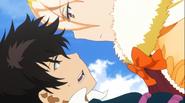 Takamiya and Kagari on high