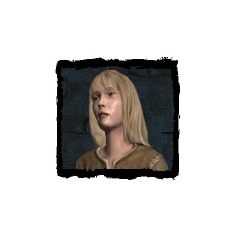 Resolute girl