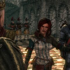 Triss Merigold accuses the Lone Witch of Kovir.