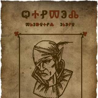 <i>Iorveth's wanted poster.</i>