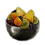 Tw3 beauclair silver fruit bowl