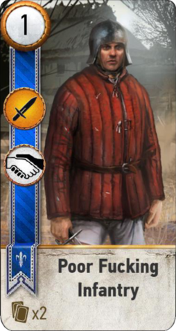 File:Tw3 gwent card face Poor Fucking Infantry.png