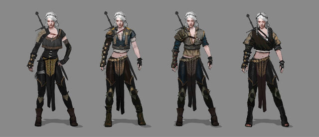 File:Tw3 Alternate outfit for Ciri early concept arts.jpg