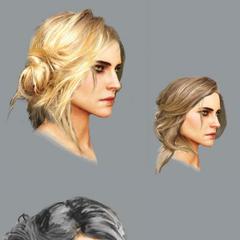 Ciri hair concept