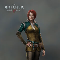 Triss concept art for <i>The Witcher 3</i>