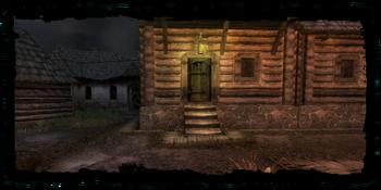 Dom służący za kryjówkę