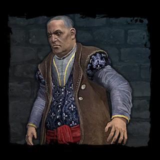 Portret Velerada z dziennika Geralta (dział