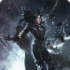 Yennefer's alternative gwent card art