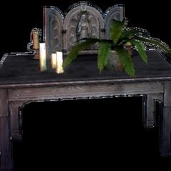 a portable shrine