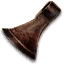 Tw3 cupronickel axe head