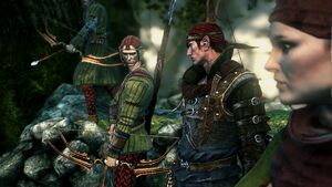 Scoia'tael dans The Witcher 2