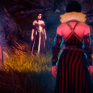 At the gathering of sorceresses