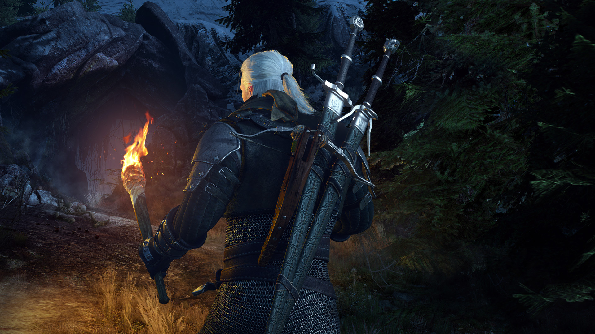 how to manually download witcher 3 hd rework project