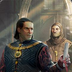 Emhyr gwent card (silver level)