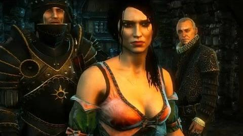 Baroness (Prison) (The Witcher 2) HD