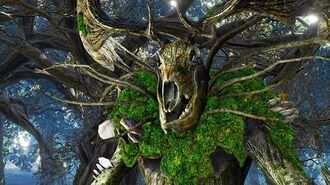 The Witcher 3 Woodland Spirit Boss Fight (Hard Mode)