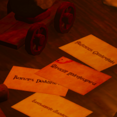 Letters with Detlaff's victims.