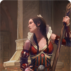 Philippa's gwent card art