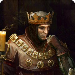 Foltest's gwent card art bronze level