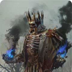 Eredin gwent card art (gold level)