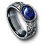 Tw3 silver sapphire ring