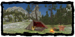 Merwin's tent