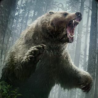 Gwent card art (bear form)