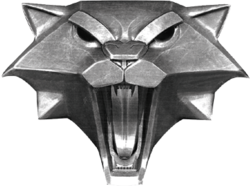 Файл:The witcher cat school medallion.png