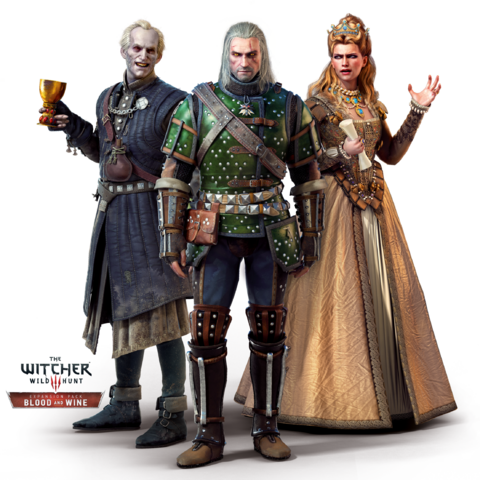 File:Tw3 Blood and Wine Regis, Geralt and Anna Henrietta.png