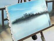 Sayoko's painting