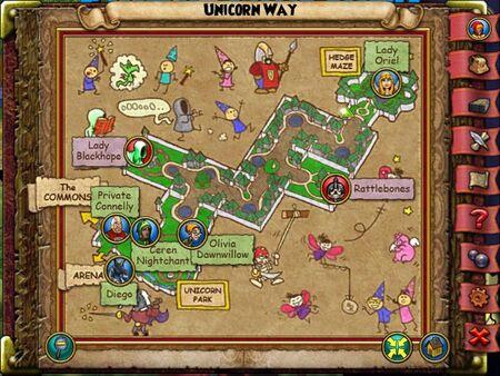 The Unicorn Way Smith Map