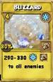 Blizzard Treasure Card
