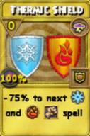 Thermic Shield Treasure Card