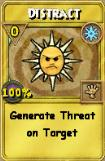 Distract Treasure Card