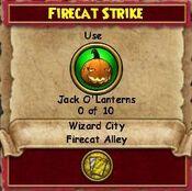 Q WC Firecat Strike 1