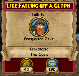 Like Falling Off A Glyph