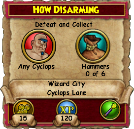 How Disarming
