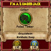 I'm a Lumberjack