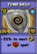 Tower Shield Item Card Variation