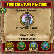 Fire Creature Feature 2