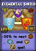 Elemental Shield Item Card