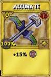 Accurate Treasure Card