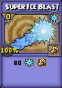 Super Ice Blast Item Card