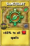 Sanctuary Treasure Card