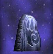 Ho D Clawed Runestone